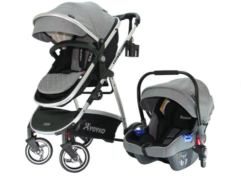 Yoyko City Seyahat Sistem Bebek Arabası