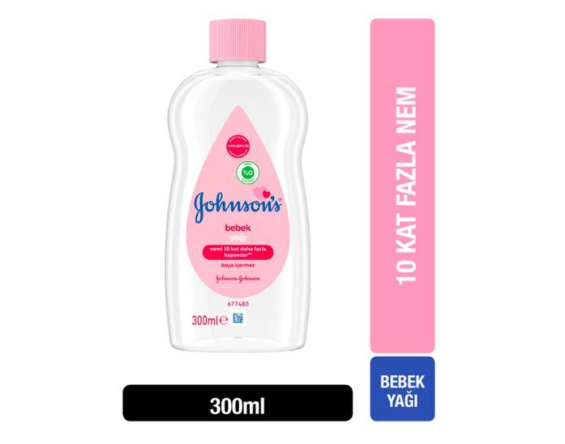 Johnson's Baby Yağ Normal 300 ml