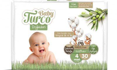 Baby Turco Doğadan Bebek Bezlerinde İndirim!